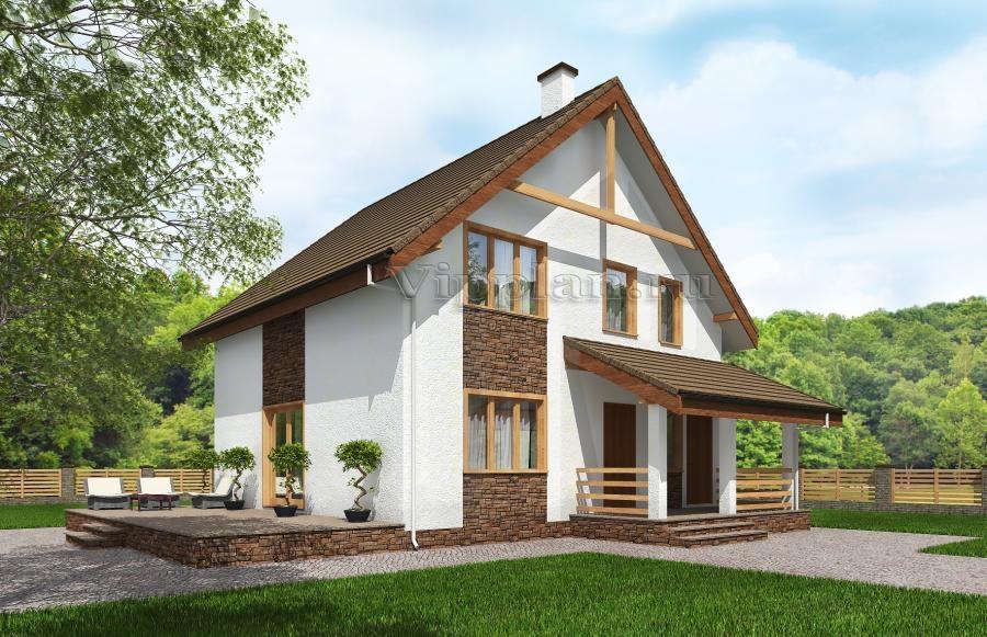 Проект дома до 150 м2 из пеноблоков